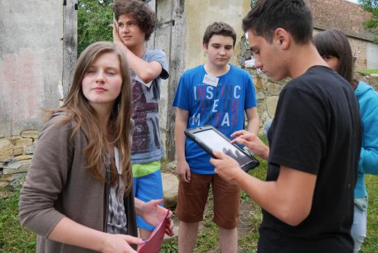 Sprachförderung durch Filmbildung - Mobile Learning